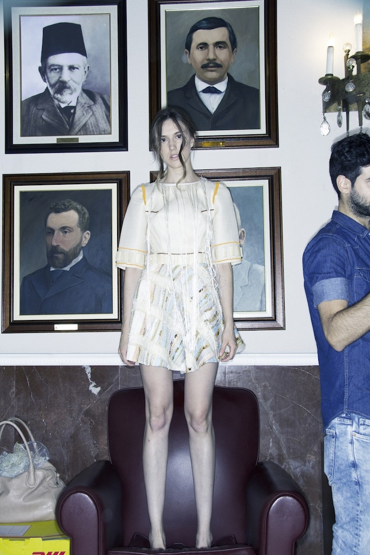 Natar Georgiou outfit.. Filep Motwary Photography  Backstage..in The TownHall of Nicosia!