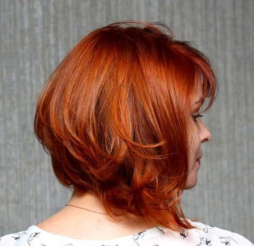 Superb 25 Best Ideas About Layered Angled Bobs On Pinterest Longer Hairstyles For Women Draintrainus