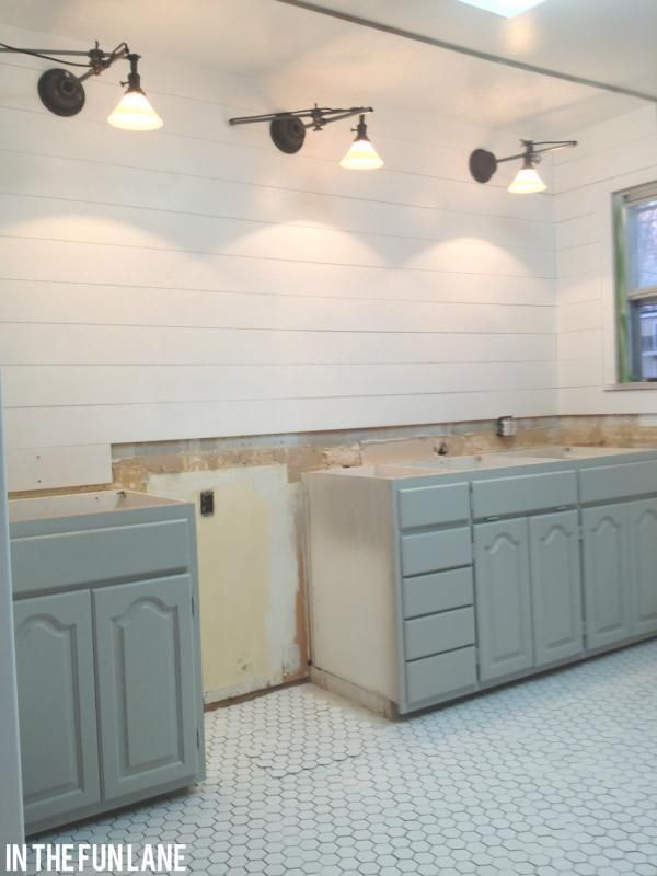 CottageK Kitchen progress 377 best Renovation Bathrooms