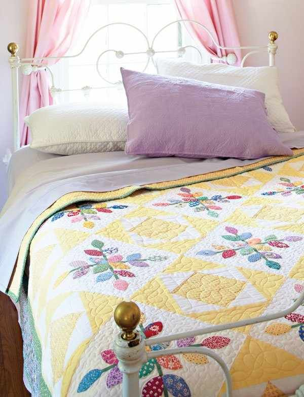30's Colors and Prints Make This Quilt Special
