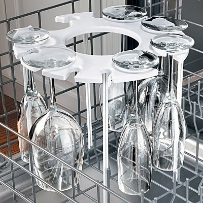 Dishwasher Stemware Holder ....this is a definite must-have for me!