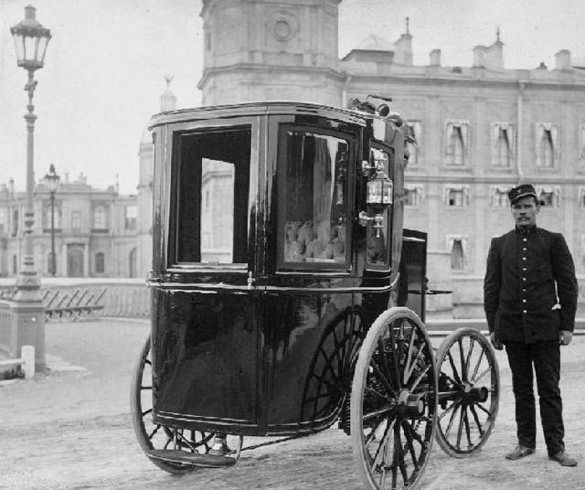 vintage everyday: First Russian Electric Car
