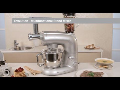 (256) Evolution multifunctional stand mixer - YouTube