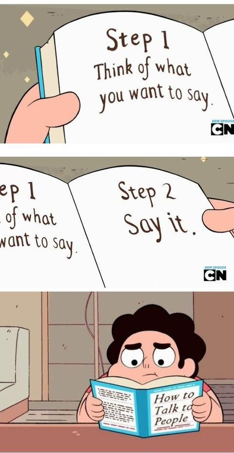 Steven Universe | How to Talk to People