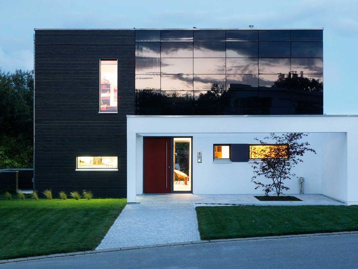 23 besten musterh user bilder auf pinterest grundrisse musterhaus und familienhaus. Black Bedroom Furniture Sets. Home Design Ideas
