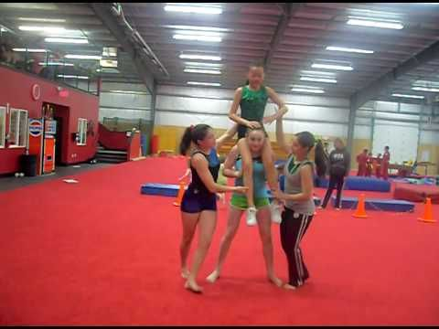 stunt routine for assembly