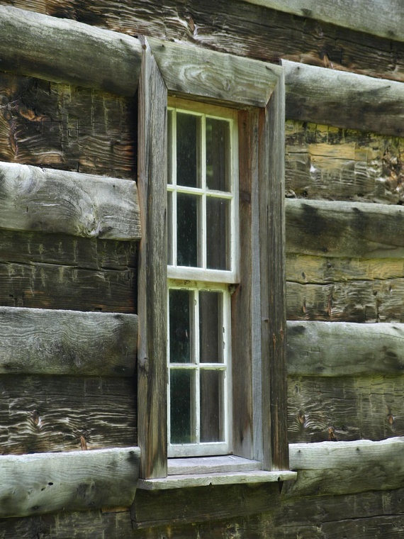 Log cabin window log cabins a girl can dream pinterest for Log cabin window