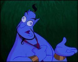 Genio Rodney Dangerfield / Genie / Aladdin / 1992 / John Musker & Ron Clemens