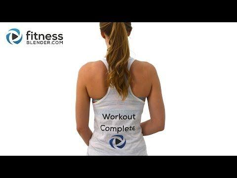 20-Minute Cardio Workout   Skinny Mom