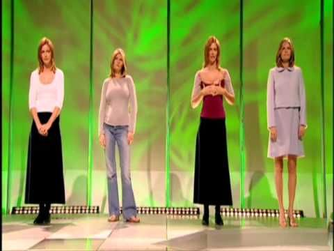 ▶ What Not to Wear Trinny Woodall and Susannah Constantine The Rules 2003 1/8 - YouTube