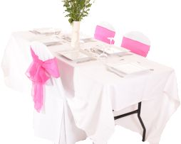 Wedding Linen Hire. Rent Table Linen, Chair Covers Napkins, Overlays, Runners In London At Low Prices.