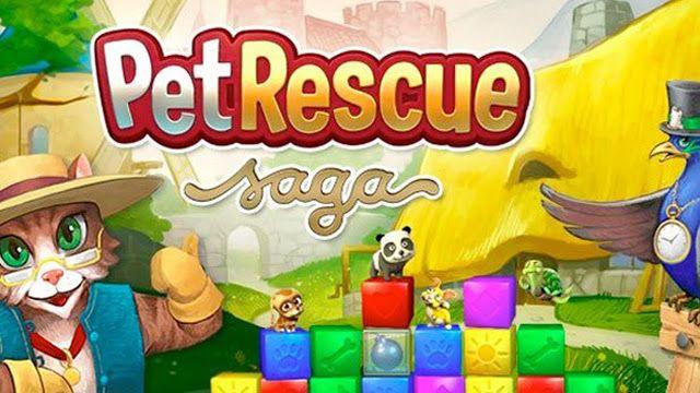 Free Download Pet Rescue Saga For Laptop Pc Desktop Windows 7 8 10 Mac Os X Whatsapp Download For Laptop Pc In 2020 Pet Rescue Saga Animal Rescue Saga