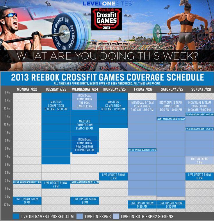 reebok crossfit schedule