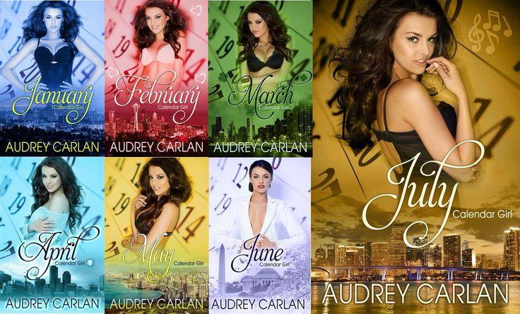 May Calendar Girl Book : Audrey carlan and her calendar girl covers so far