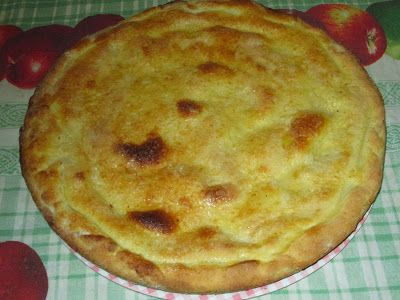Raccontare un paese: le mie ricette: torta con crema al limone