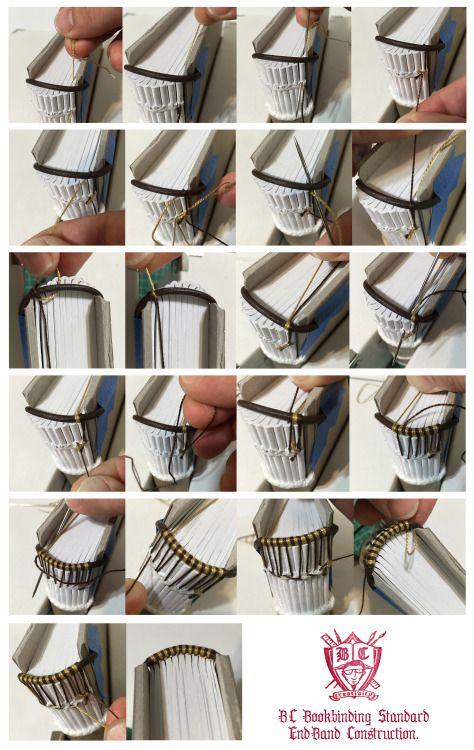 #tutorial #bookbinding #endband #headbands