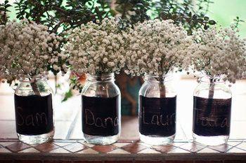 Rustic Vintage Wedding Decor For Sale Mason Jars Burlap