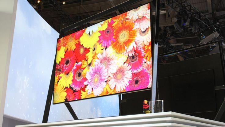 Hands on : Samsung S9 Ultra HD TV review | Suspended from an easel-style stand that also features surround audio, this 85-inch 4K resolution LED TV is a true one-off. Reviews | TechRadar