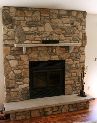 1000 ideas about stone veneer siding on pinterest stone - Stone veneer fireplace ideas ...