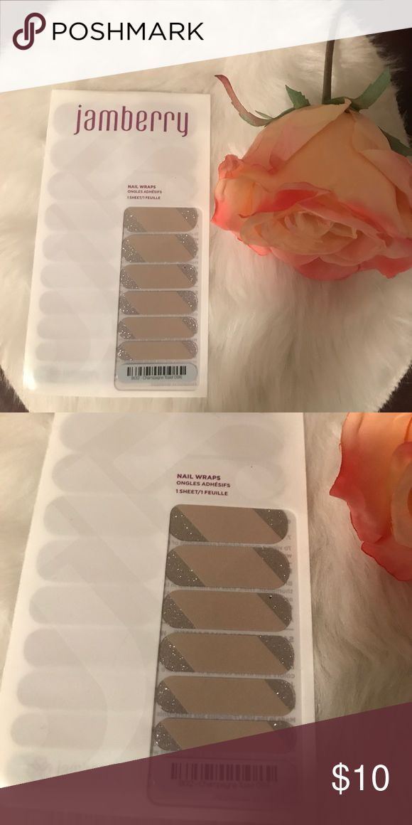 Jamberry nail wraps in Cinnamon Toast New, never opened or used Jamberry nail wrap. jamberry Other