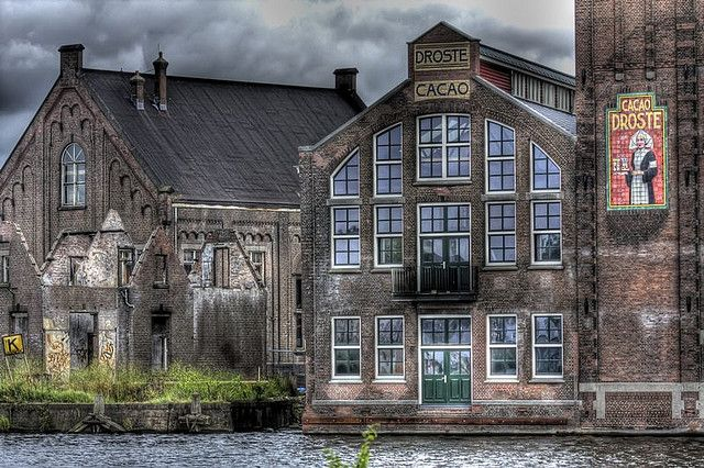Droste chocolate factory, Haarlem, the Netherlands.