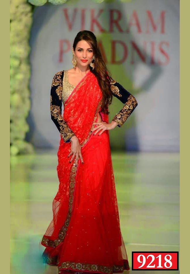 Bollywood #MalaikaArora red rose replica #saree buy online from #craftshopsindia   #bollywoodsaree #replicasaree #bollywoodreplicasaree
