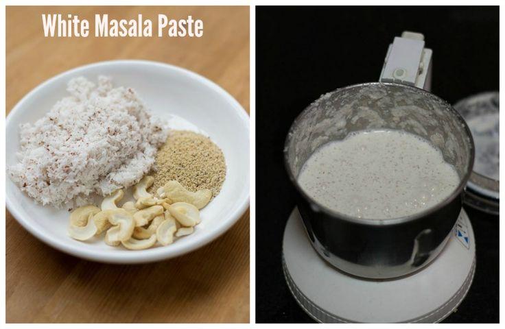 Hotel-Saravana-Bhavan-Chapati-Parotta-Vegetable-Kurma-Recipe-White-Masala-Paste