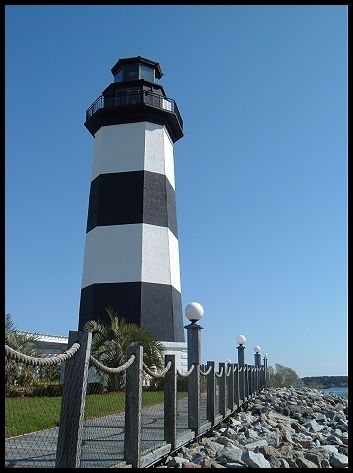 Governor's Light, Little River, SC. Not open to the public.