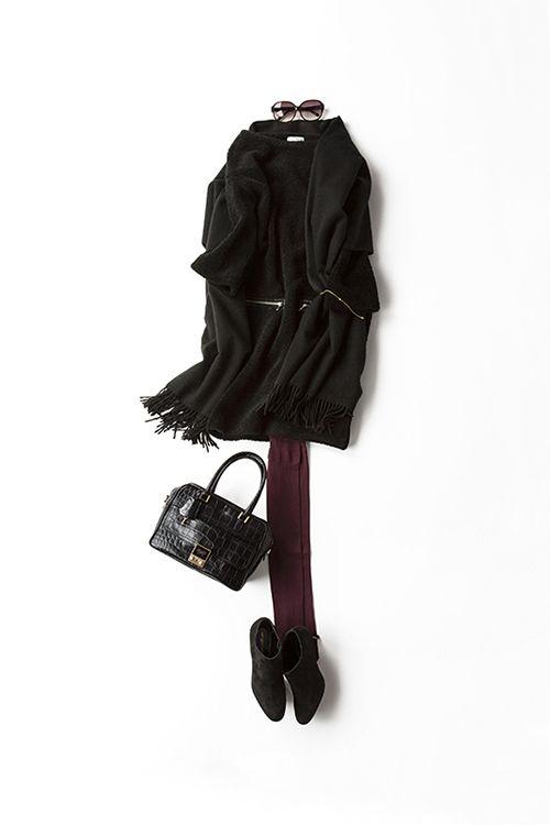 コーディネート詳細(スウェードのブーティーを履きたくて。。)  Kyoko Kikuchi's Closet 菊池京子のクローゼット