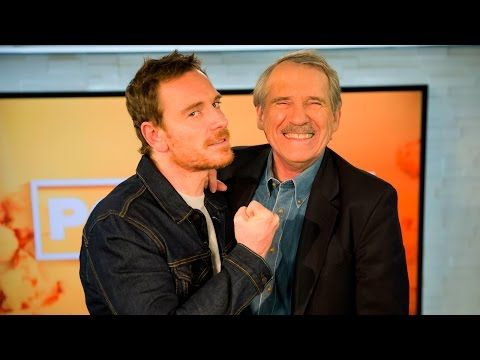 Popcorn with Peter Travers: Michael Fassbender Cannot Stop Cracking Jokes During Interview