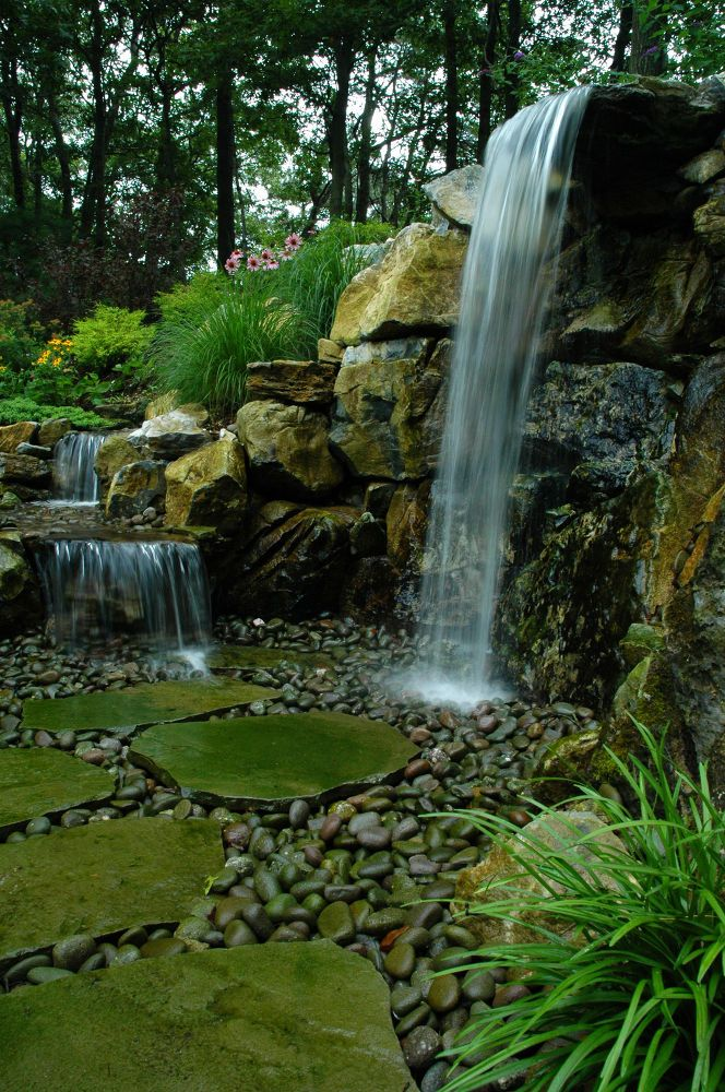 1000 images about retaining wall ideas on pinterest for Waterfall set design