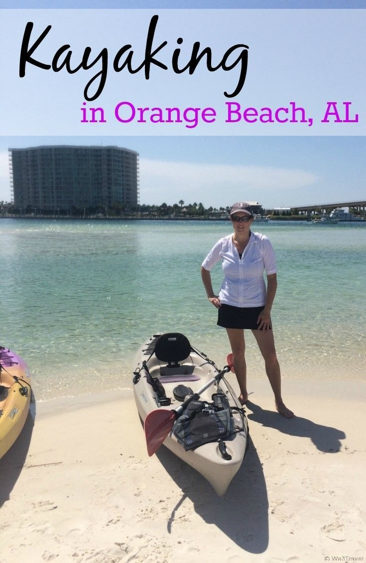 Kayaking in Orange Beach Alabama with Coastal Kayak Excursions -- a perfect day on the water!