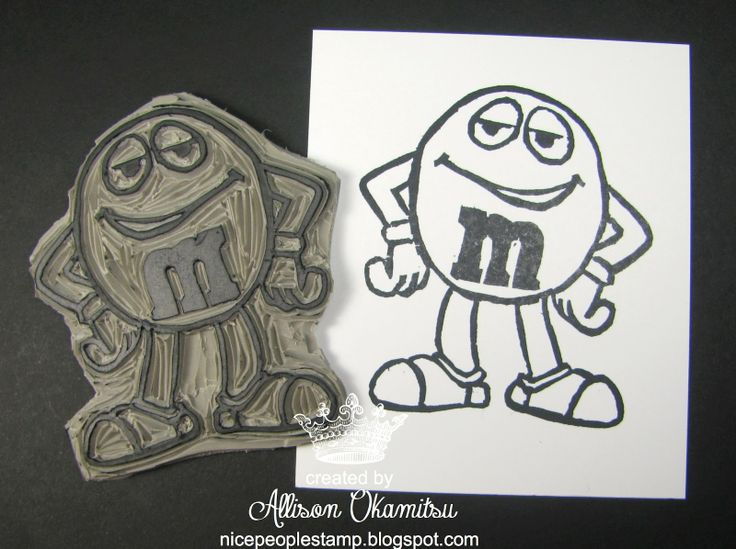 M&M carved by Allison Okamitsu: Stampinup Stampcarv, Crafts Cards, Undefin Stamps, Stamps Carvings, Stampinup Com, Diy Crafts, Carvings Stamps, Stamps Ideas, Joycefish Stampinup Net