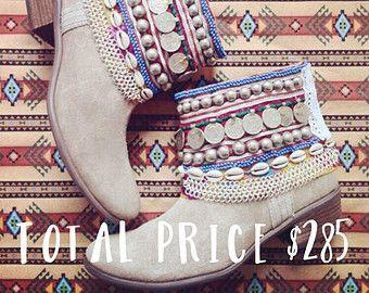 "Tribal ""Zigeuner"" Stiefel--Custom Order--Wilde Nächte Design - Wilde Boot & Zahlungsanfrage Guide women's Cowboy cowgirl"