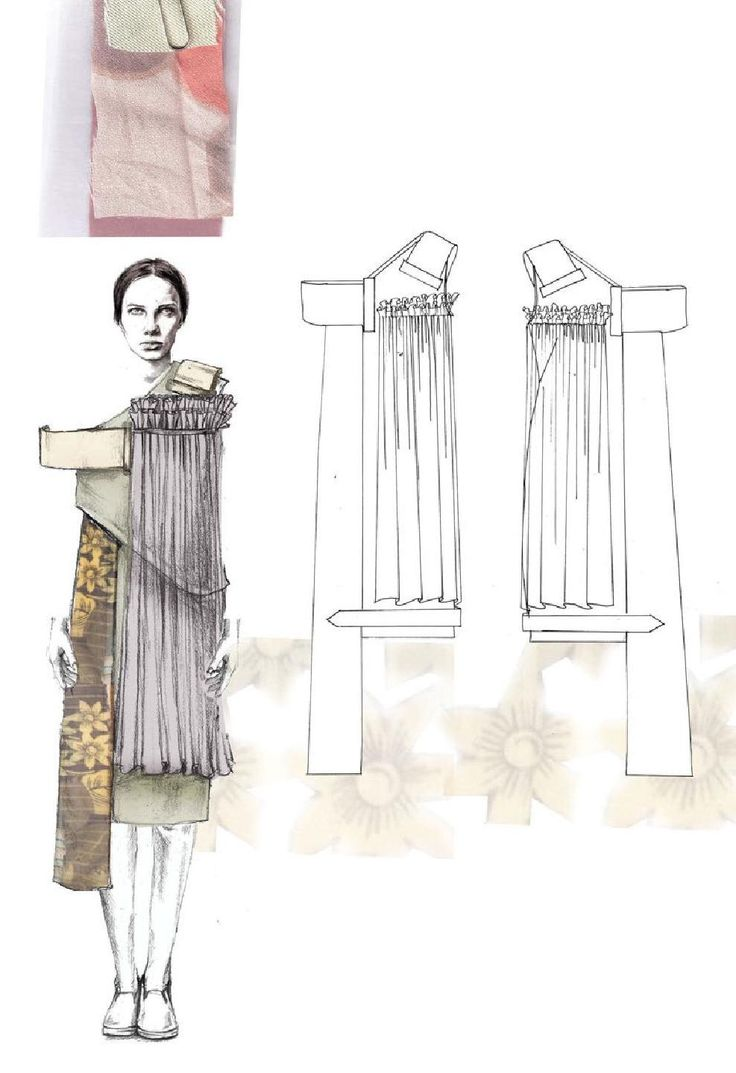 Fashion Sketchbook - fashion illustrations; graduate fashion portfolio // Emma Berry