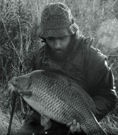 NOT Carpy! Looks like he's been on the bank for three years.