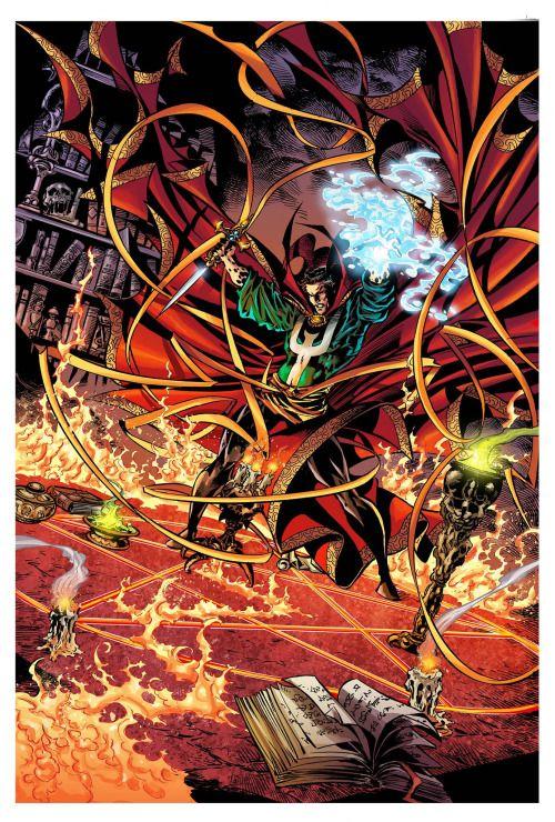 Dr. Strange - Mike Deodato Jr., Colors - Dijjo Lima