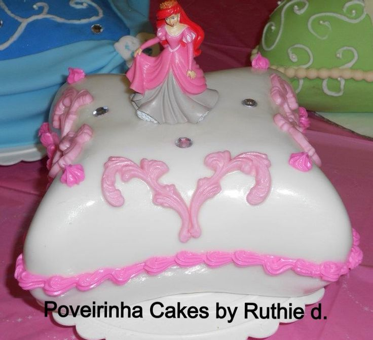 Birthday Disney Princess Cake