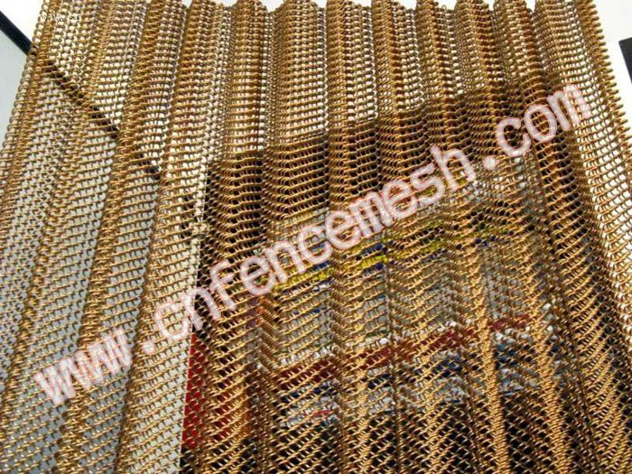 27 best images about wire mesh curtains on pinterest wire mesh steel mesh and w hotel - Decorative wire mesh panels ...
