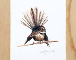 Image result for fantail tattoo nz