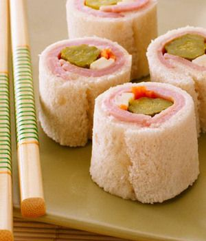Kid-Friendly Snack: Sandwich Sushi