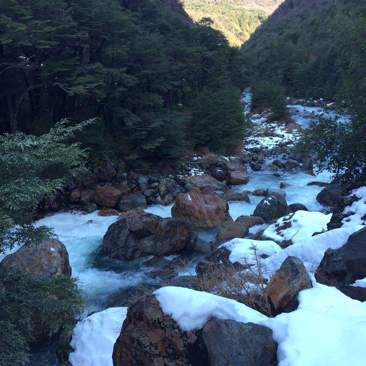 Río pangue alto Bio Bio chile