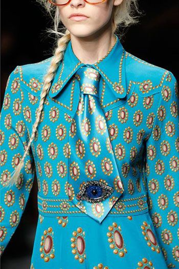 FASHION PEOPLE | Показ женской коллекции Gucci лето-2016