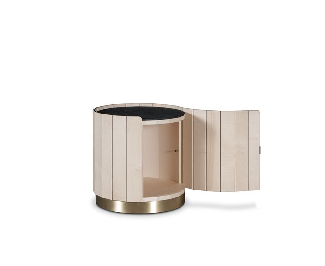 #Ninfea bedside table by #Baxter