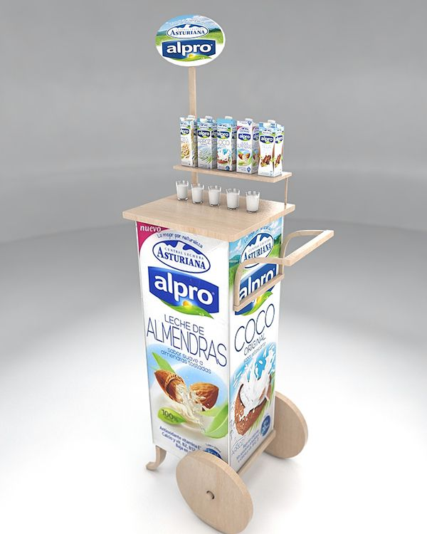 This Project Is For Alpro Company A Spanish Milk Factory The Aim