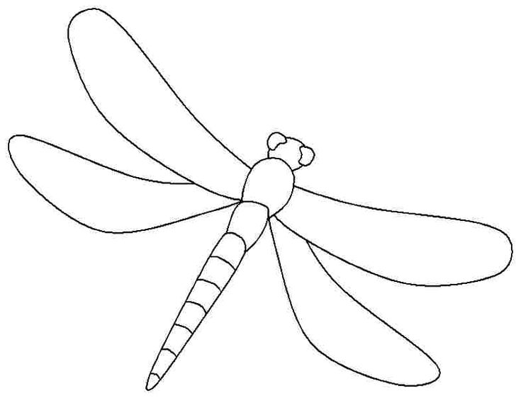 dragonfly printable coloring pages