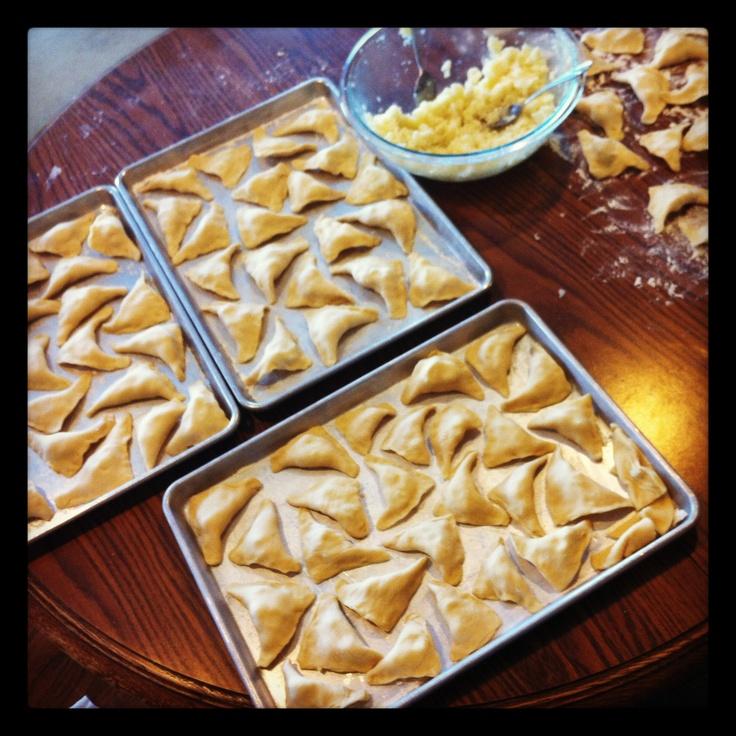 Homemade pierogies. | Pierogies...piroshkies | Pinterest
