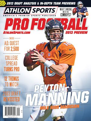 denver broncos practice week 7 | Denver Broncos 2013 Schedule Analysis | AthlonSports.com