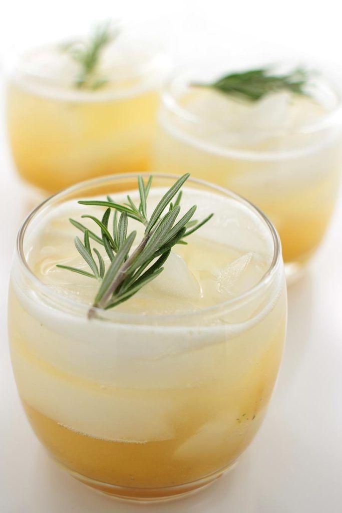 Rosemary-Peach Drinking Vinegar - Autoimmune Paleo