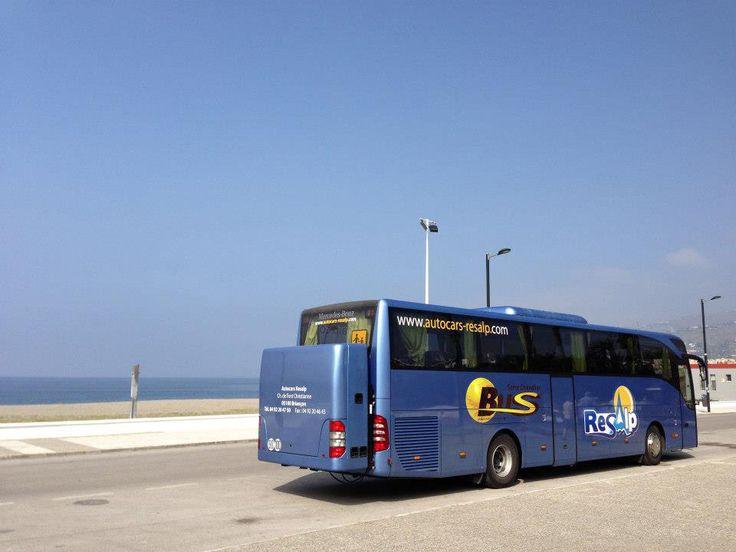 Un voyage en Espagne sur les plages à proximité de Salobrena - avec #Resalp